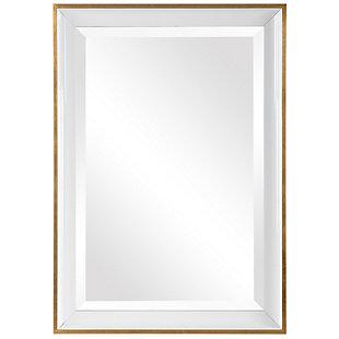 Uttermost Gema White Mirror, , large