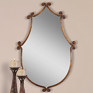 Uttermost Ablenay Antique Gold Mirror, , rollover