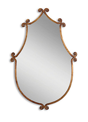 Uttermost Ablenay Antique Gold Mirror, , large