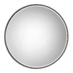 Uttermost Stefania Beaded Round Mirror, , large