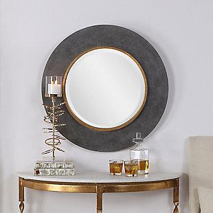 Uttermost Saul Round Mirror, , rollover