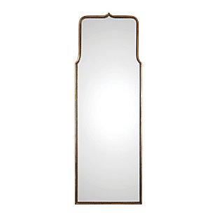 Uttermost Adelasia Antiqued Gold Mirror, , large