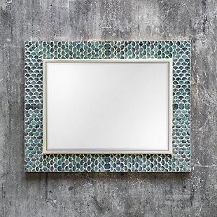 Uttermost Makaria Coastal Blue Mirror, , rollover