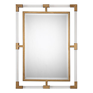 Uttermost Balkan Modern Gold Wall Mirror, , large
