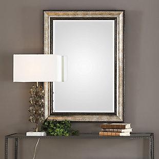 Uttermost Shefford Antiqued Silver Mirror, , rollover
