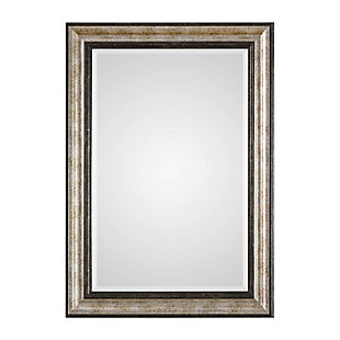 Uttermost Shefford Antiqued Silver Mirror, , large