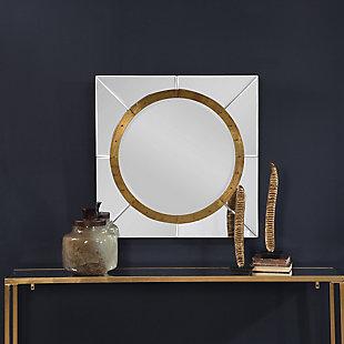Uttermost Maya Square Mirror, , rollover