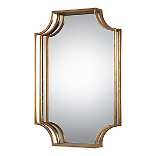 Uttermost Lindee Gold Wall Mirror, , large