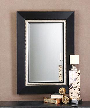 Uttermost Whitmore Black Vanity Mirror, , rollover