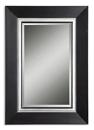 Uttermost Whitmore Black Vanity Mirror, , large