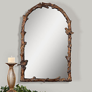 Uttermost Paza Antique Gold Arch Mirror, , rollover