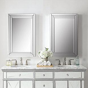 Uttermost Alanna Frameless Vanity Mirror, , rollover