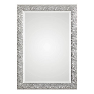 Uttermost Mossley Metallic Silver Mirror, , large
