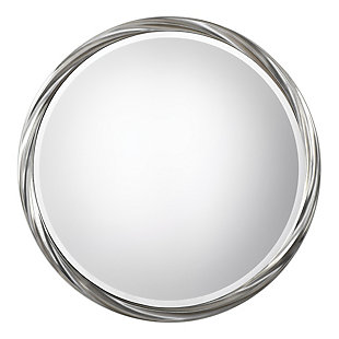 Uttermost Orion Silver Round Mirror, , large