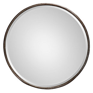 Uttermost Nova Round Metal Mirror, , large