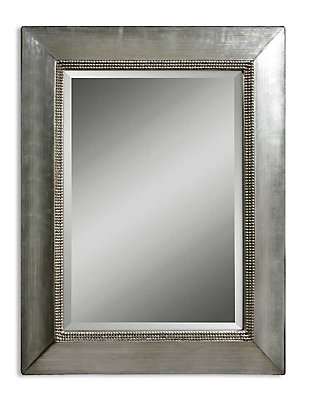 Uttermost Fresno Antique Silver Mirror, , large