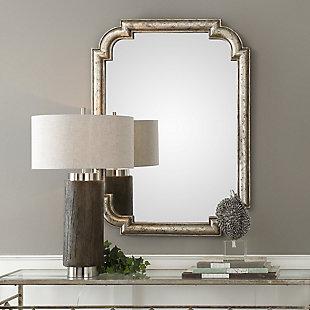 Uttermost Calanna Antique Silver Mirror, , rollover