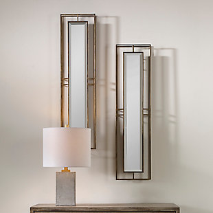 Uttermost Rutledge Gold Mirrors, Set of 2, , rollover