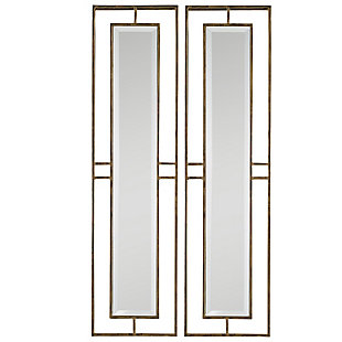 Uttermost Rutledge Gold Mirrors, Set of 2, , large