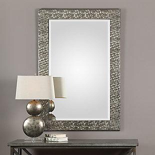 Uttermost Kanuti Metallic Gray Mirror, , rollover