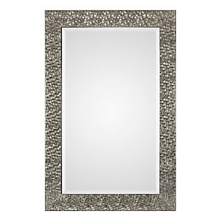 Uttermost Kanuti Metallic Gray Mirror, , large