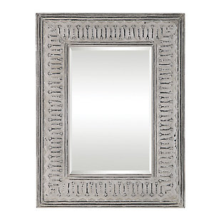 Uttermost Argenton Aged Gray Rectangle Mirror, , large