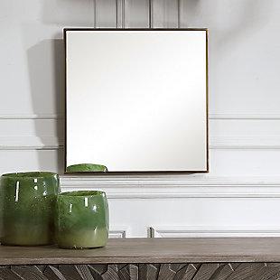Uttermost Balmoral Modern Square Mirror, , rollover