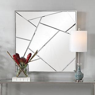 Uttermost Beria Modern Square Mirror, , rollover