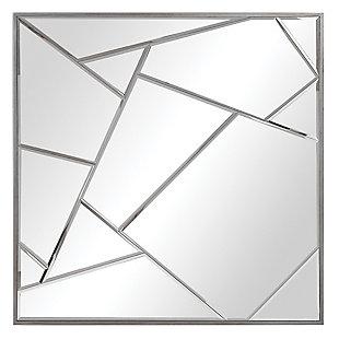 Uttermost Beria Modern Square Mirror, , large
