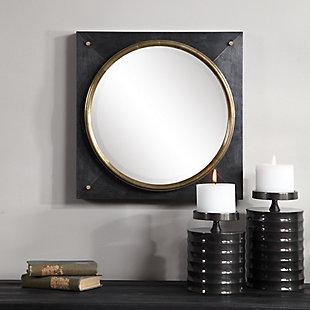 Uttermost Tobiah Modern Square Mirror, , rollover
