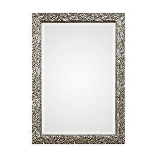Uttermost Evelina Silver Leaves Mirror, , large