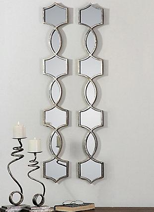 Uttermost Vizela Metal Mirrors Set of 2, , rollover