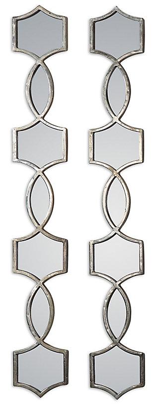 Uttermost Vizela Metal Mirrors Set of 2, , large