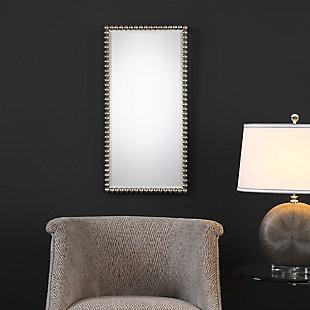 Uttermost Serna Antiqued Silver Mirror, , rollover