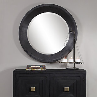 Uttermost Frazier Round Industrial Mirror, , rollover