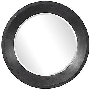 Uttermost Frazier Round Industrial Mirror, , large