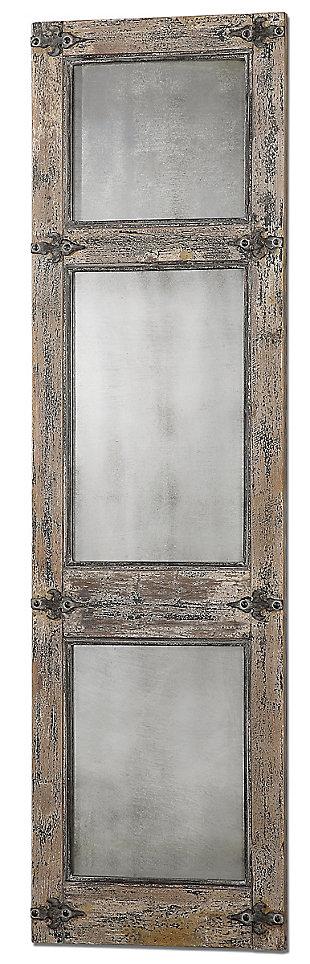 Uttermost Saragano Distressed Leaner Mirror, , large