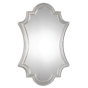 Uttermost Elara Antiqued Silver Wall Mirror, , large