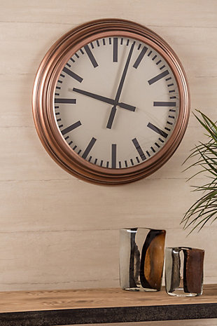 Home Accents Swanson Clock, , rollover