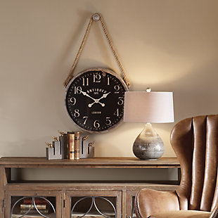 Uttermost Bartram Wall Clock, , rollover