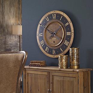 "Uttermost Auguste Verdier 27"" Wall Clock, , rollover"