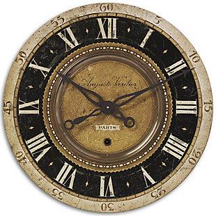 "Uttermost Auguste Verdier 27"" Wall Clock, , large"