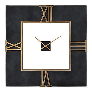 Uttermost Mudita Square Wall Clock, , large