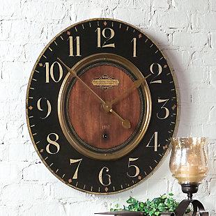 """Uttermost Alexandre Martinot 30"""" Clock, , rollover"""