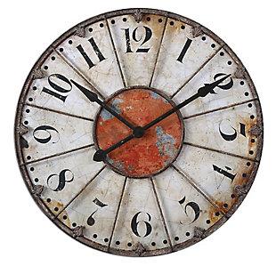 "Uttermost Ellsworth 29"" Wall Clock, , large"