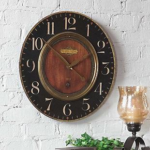 """Uttermost Alexandre Martinot 23"""" Clock, , rollover"""