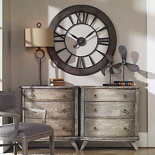 Uttermost Ronan Wall Clock, , rollover