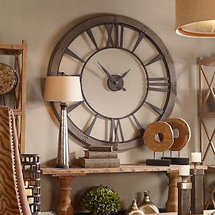 Uttermost Ronan Wall Clock, Large, , rollover