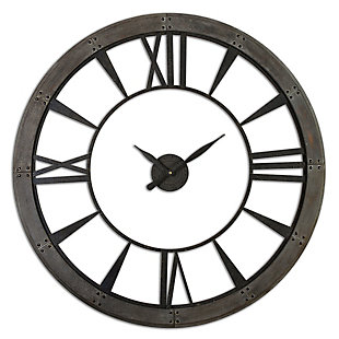 Uttermost Ronan Wall Clock, Large, , large