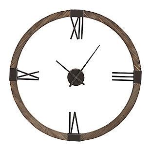 Uttermost Marcelo Modern Wall Clock, , large